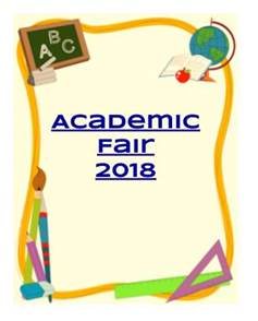 academic fair 2018 image - click here