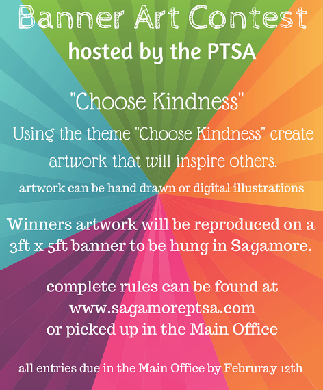 PTA banner contest