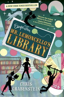 escape from mr. lemoncellos library image