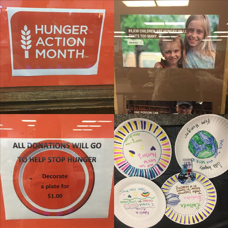 world hunger plate image