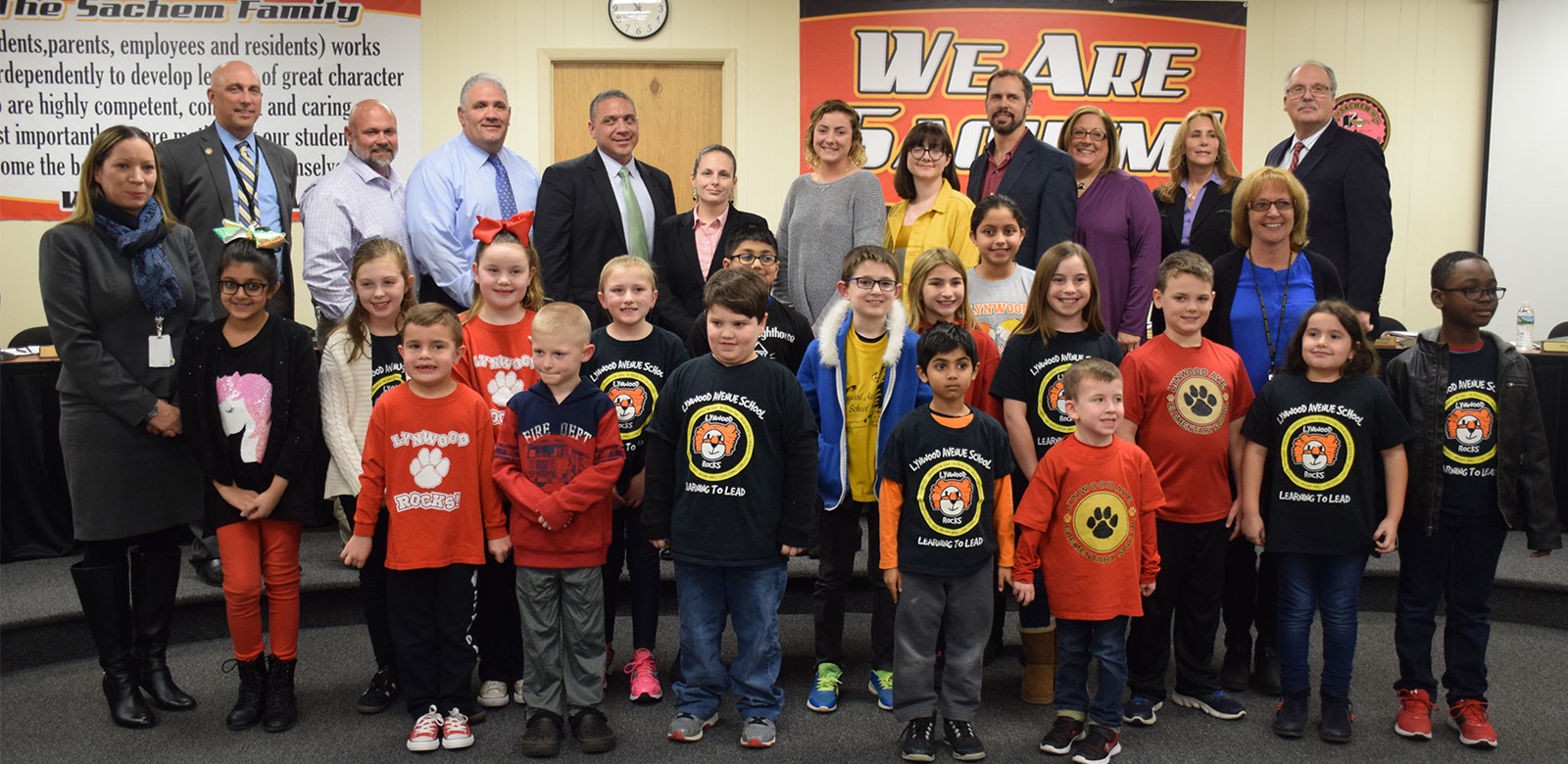 Board of Education Recognizes Continued Volunteerism