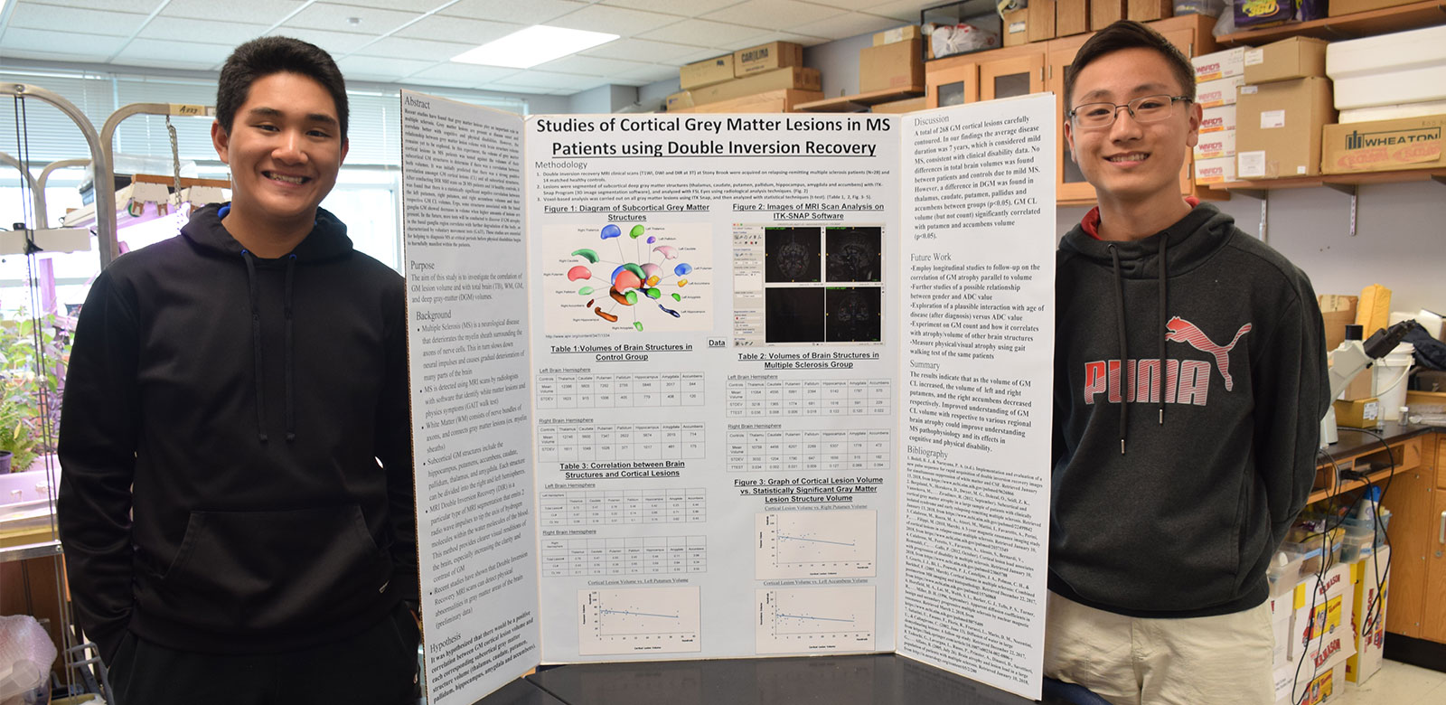 Sachem Science Duo Shines Through Brain Imaging Research