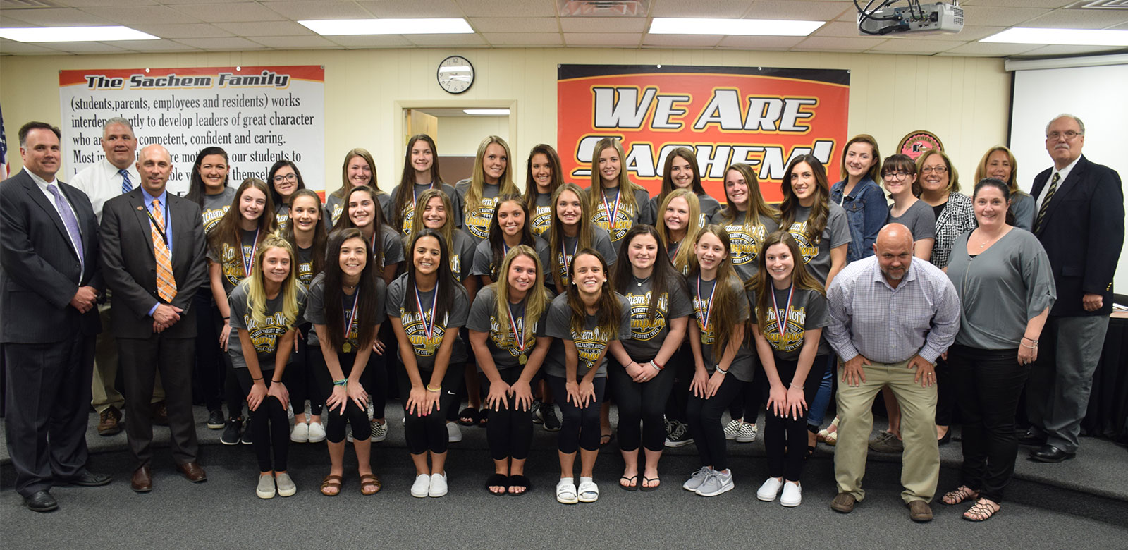 Athletics and Community Service Honored at May Board Meeting