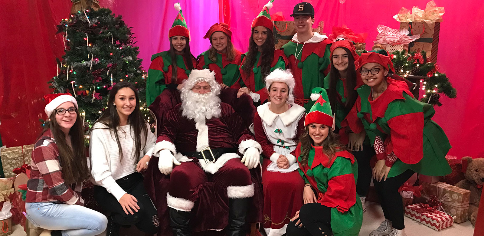 Sachem Celebrates Festival of Trees and Lights