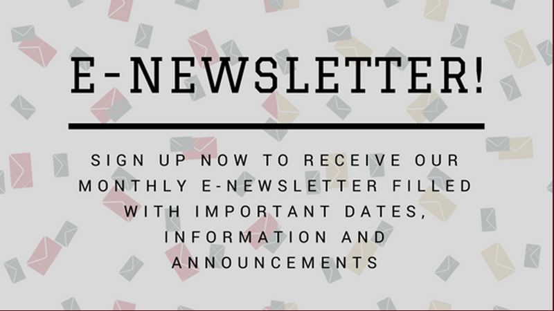 Sign up for our e-newsletter!