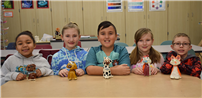 Waverly Students Show Off Animal Artwork photo