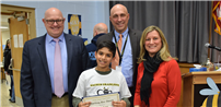 District Crowns Top Speller at Annual Spelling Bee photo thumbnail111120