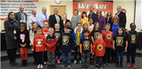 Board of Education Recognizes Continued Volunteerism photo