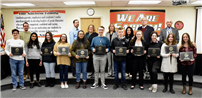 Board of Education Honors Student-Musicians photo