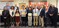 Board of Education Honors 2019 Valedictorians and Salutatorians photo thumbnail114565