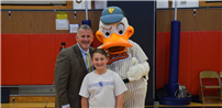 Tamarac Student Takes a Duck to Class photo
