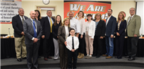 Student Volunteerism Recognized at April Board Meeting photo
