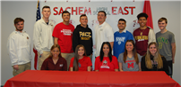 Sachem Student-Athletes Sign On For Next Chapter