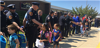 Tamarac Elementary Shows Support During Police Week Photo 1