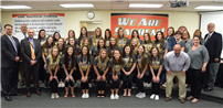 Athletics and Community Service Honored at May Board Meeting photo