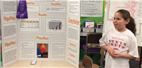 Wenonah Student Wins Honorable Mention at BNL Science Fair Photo
