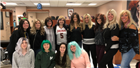 Cosmetology Students Explore the World of Wigs photo