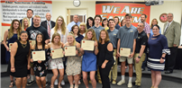 Student-Athletes, Coaches Honored at Board of Education Meeting photo