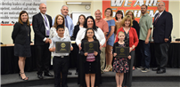Outstanding Students and Staff Honored at June Meeting photo
