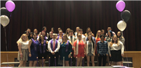 Student Standouts Inducted Into National Honor Societies photo thumbnail121098
