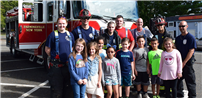 Fire Prevention Demonstrated at Lynwood photo