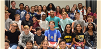 Captivating Speaker Shares Inspiring Messages With Students photo
