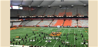 Sachem Marching Band Places Second in New York State photo