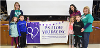 Sachem Stands Together on P.S. I Love You Day photo