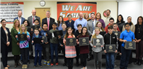 Sachem Spellers Honored by Board of Education photo