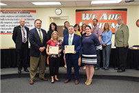 Student-Athletes, Coaches Honored at Board of Education Meeting photo 2