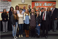 Board Recognizes Extraordinary Student Volunteerism at January Meeting photo 2