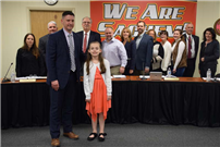 Board Recognizes Extraordinary Student Volunteerism at January Meeting photo 3