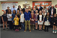 Student Community Service Recognized at April Meeting  Pic 2