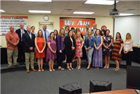 Outstanding Students and Staff Honored at June Meeting photo 2