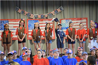 Wenonah Celebrates Flag Day With Patriotic Display 3