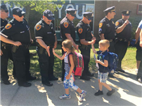 Tamarac Elementary Shows Support During Police Week Photo 2