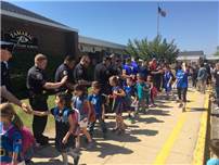 Tamarac Elementary Shows Support During Police Week Photo 3