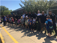 Tamarac Elementary Shows Support During Police Week Photo 4