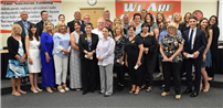 Board Honors Distinguished Retirees photo