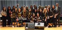 Board Recognizes Exemplary Winter Athletes photo