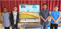 Merrimac Students Study Water Cycle