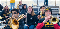 Sachem Debuts Pep Bands at Football Games photo thumbnail139240